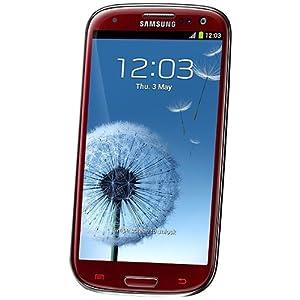 Samsung GT-I9300 Galaxy S III Smartphone-Red
