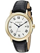 Raymond Weil Men's 2837-Pc-00659 Automatic Stainless Steel Silver Dial Watch