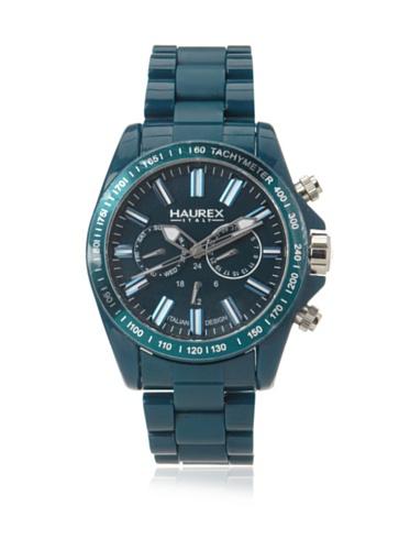 Haurex Italy Men's B0366UB2 Aston Green Multi-Function Watch