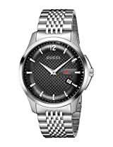Gucci Mens YA126309 quotG-Timelessquot Stainless Steel Watch