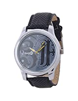 Reebok Plus Analogue Black Dial Men's Watch