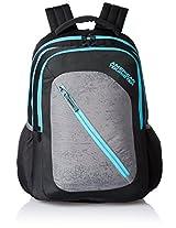 American Tourister Casper Black Casual Backpack (Casper Bacpack 08_8901836135374)