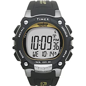 【クリックで詳細表示】[タイメックス]TIMEX 腕時計 アイアンマン トライアスロン 100ラップ ウレタンストラップ T5E231 メンズ [正規輸入品]