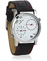 22722LMGI Black/White Analog Watch