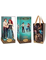 Ariel And Eric Doll Set Disney Fairytale Designer Collection Disney Store The Little Mermaid Limited Edition 6000
