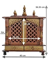 Home Temple/ Wooden Temple/ Pooja Mandir/ Mandap/ Temple for Home