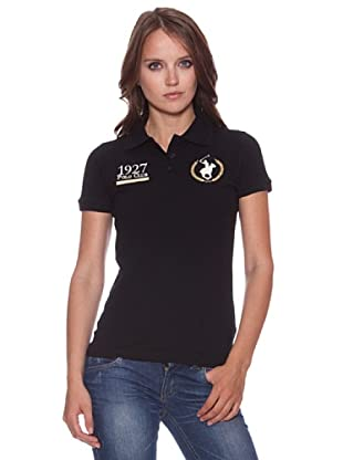 Polo Club Poloshirt Iowa (Schwarz)