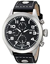 Invicta Analog Black Dial Men's Watch - 350