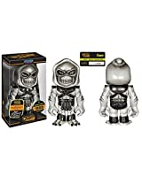 Masters of the Universe Grey Skull Skeletor Hikari Sofubi Vinyl Figure Limited to 1000pcs Worldwide