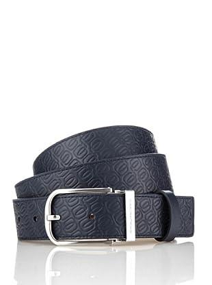 Piquadro Cinturón Leonardo (Azul)