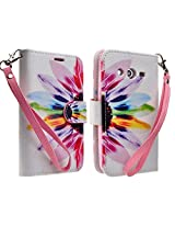 Samsung Galaxy Avant G386T Case, Magnetic Leather Flip Wallet Pouch Samsung Galaxy Avant G386 (T-Mobile), Slim...