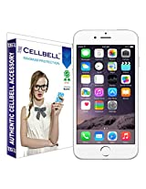 Cellbell Premium Tempered Glass Screen Protector for Apple Iphone 6 plus (2.5D Curved Edges)(Clear)(Comes with Warranty)Complimentary Prep cloth