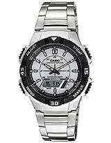 Casio Youth Stopwatch Analog-digital White Dial Men's Watch - AQ-S800WD-7EVDF (AD171)