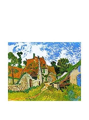 Legendarte Leinwandbild Strada Tra Cascinali Ad Auvers di Vincent Van Gogh