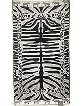 Luxury Oversized Beach Towels, Zebra Print, 100 Egyptian Cotton