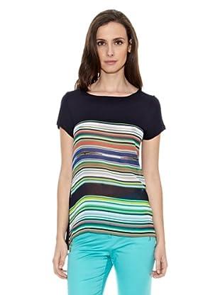 Cortefiel Camiseta Rayas Multicolor (Multicolor)