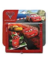 "Cars 2 Lightning McQueen Hammer Down"" Non-Woven Bifold Wallet"" [Toy]"