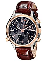 Timex Mens T2N942DH Intelligent Quartz World Time Watch