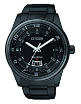 Citizen Black Stainless Steel Analog Men Watch AW1284 51E