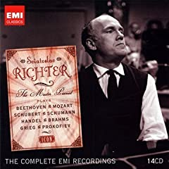 Sviatoslav Richter: The Master Pianist The Complete EMI Recordings(14枚組)のAmazonの商品頁を開く