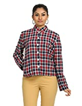 Fbbic Women's Jacket (16139_X-Small_Red)