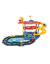 Bburago Street Fire Parking Playset, incl. 2 CARS, Multi Color
