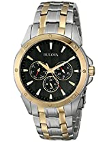 Bulova Classic Analog Black Dial Men's Watch - 98C120