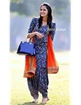 Shree Fashion Woman's Jakarad With Dupatta [Shree (46)_Blue]