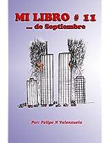 Mi libro #11... de septiembre (Spanish Edition)