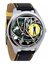 Foster's Bond Analogue Yellow on Black Background Watch AFW0000377