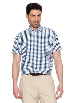 Pedro del Hierro Camisa Cuadros (Azulón)