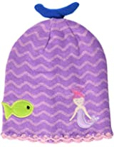 Kidorable Little Girls Mermaid Hat, Blue, One Size