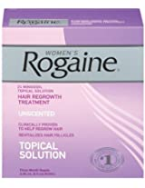 Rogaine for Women Hair Regrowth Treatment 3 Count Pack 2 Ounce Bottles