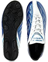 Vector X Lethal Football Shoes, Size 8 (White)