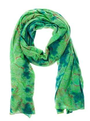 Custo Tuch Somiy (grün/blau/koralle)