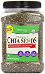 2 Lb Organic Chia Seeds Betterbody Foods