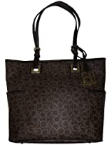 Calvin Klein Cal-0352 Cross-Body Bag For Women {Black, Leather}