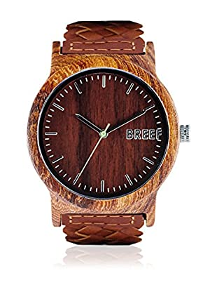 Breef Watches Reloj con movimiento japonés Unisex Sandal Marrón 44 mm