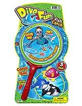 Ja-Ru Dive Fun Fish Catch Party Favor Bundle Pack