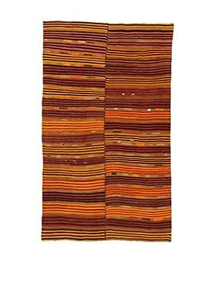 Design Community By Loomier Teppich Kilim Caucasico orange/mehrfarbig 190 x 316 cm