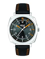 Helix Analog Black Dial Men's Watch - TW017HG03