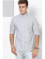 Alloy-Pt/ Classic Grey Casual Shirt