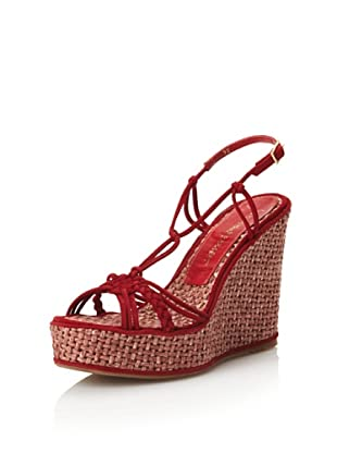Jean-Michel Cazabat Women's Cara Knotted Espadrille (Red)