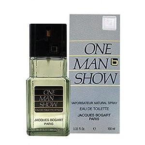 Jacques Bogart One Man Show Eau De Toilette Spray for Men, 100ml