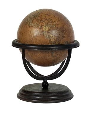 Large Wooden Globe