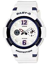 Casio Baby-G Analog-Digital White Dial Women's Watch - BGA-210-7B2DR (BX047)