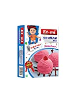Et-mi Instant Strawberry Ice Cream 100 Grams