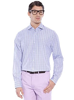 Hackett Camisa Cuadros (Verde / Azul)