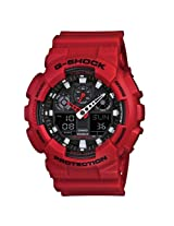 Casio G-Shock (Extra Large Combination) GA-100B-4A (G344) Watch - For Men