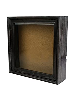 HomArt Paxton Square Shadowbox Cork Board
